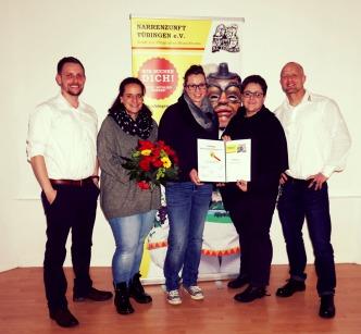 Vorstand Narrenzunft Tübingen 2018